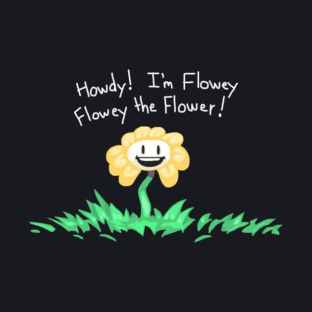 Flowey the Flower (Howdy Im Flowey!)