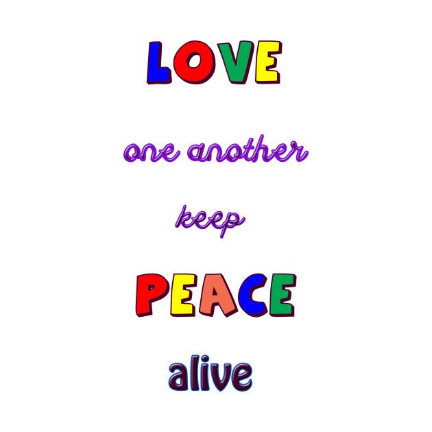Keep Peace Alive
