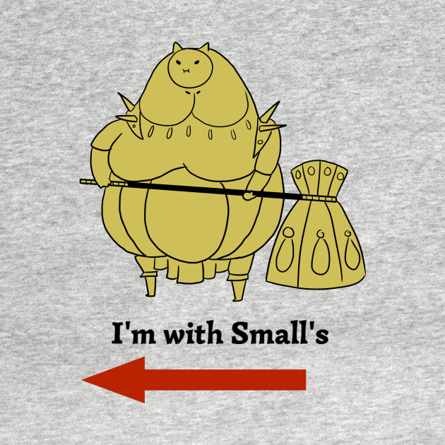 I'm with small's