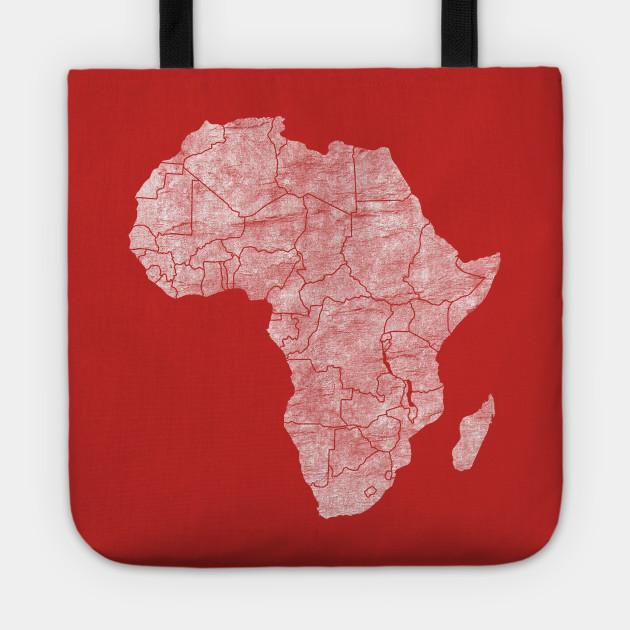 Afrika - White Halftone