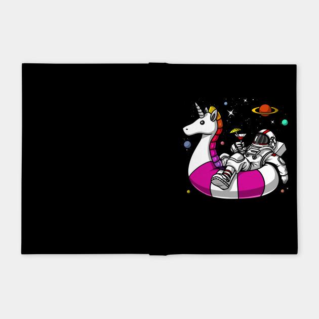 Space Astronaut Riding Unicorn Float