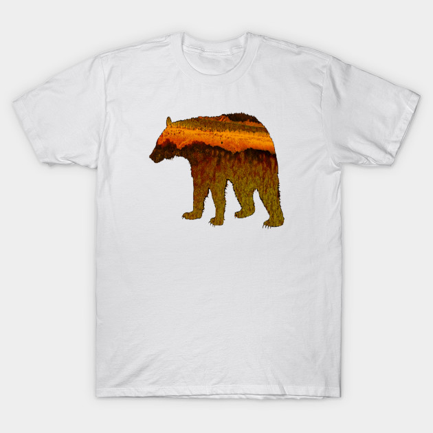 c085a042cad7 Nature Bear - Bear - T-Shirt | TeePublic