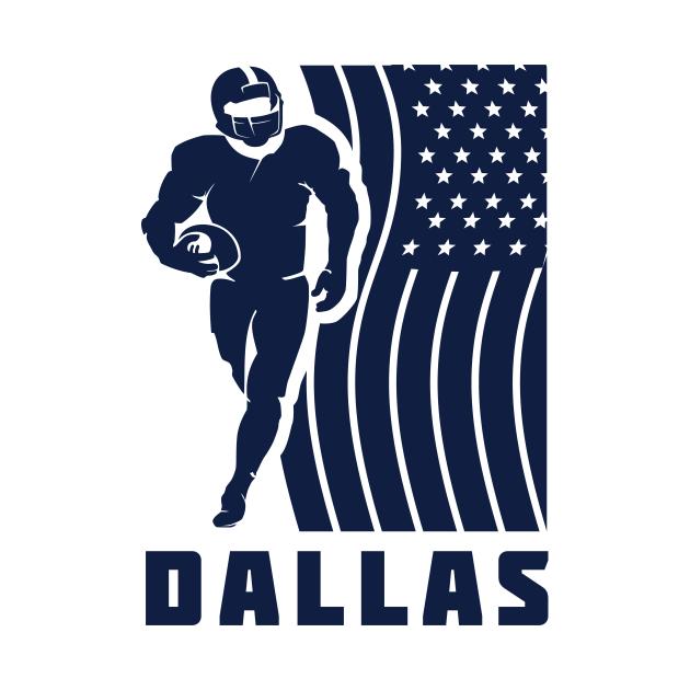 Dallas Football Team Color