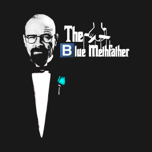 The Blue Methfather t-shirts