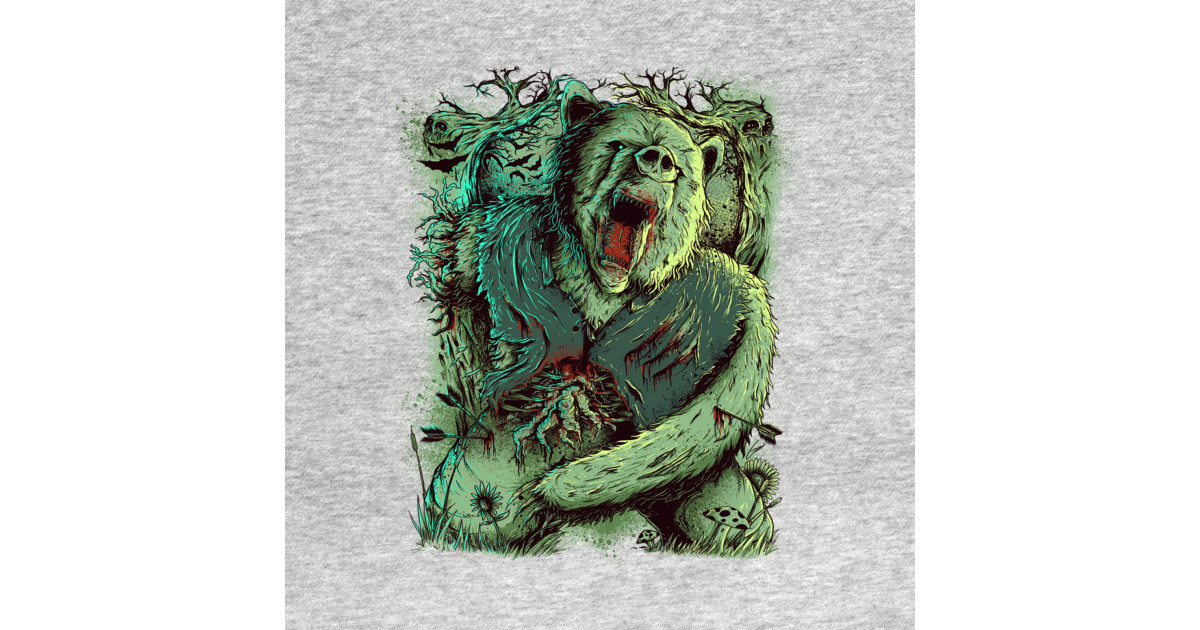 This Is A Zombie Bear Pop Culture Pillow Teepublic