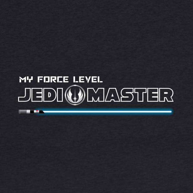 My Force Level: Jedi Master - Blue