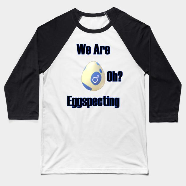 be3eed5580c8c Pokemon Go Pregnant Male - Pokemon Go - Baseball T-Shirt | TeePublic