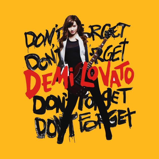 Demi Lovato 2 - Demi Lovato - T-Shirt | TeePublic
