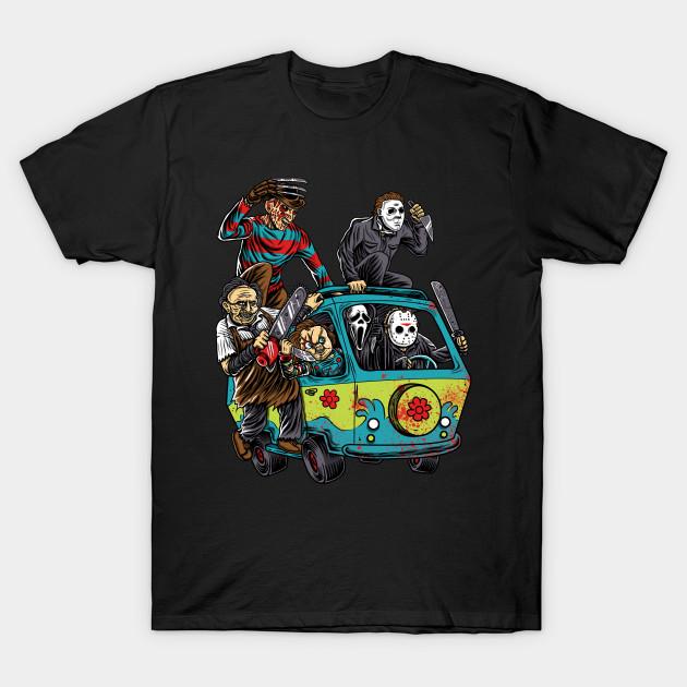 fbe5775ea16 The Massacre Machine - Horror - T-Shirt