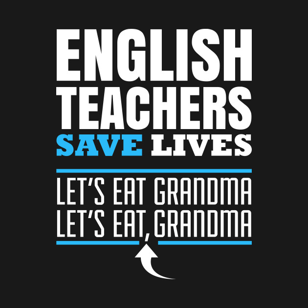 ENGLISH TEACHER save lives