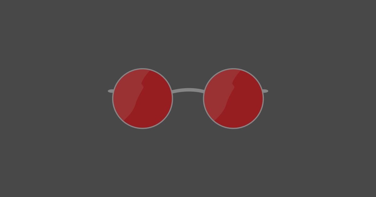 4bebe2547424 Matt Murdock Glasses - Daredevil - Sticker
