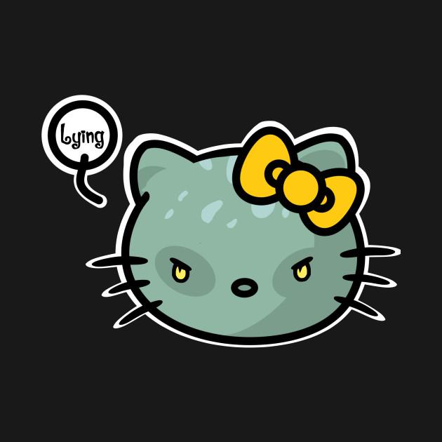 Lying Kitty