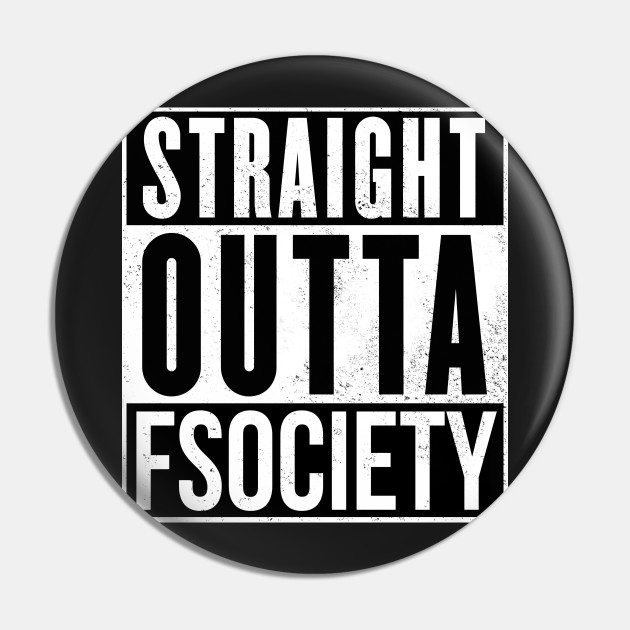 Straight outta fsociety