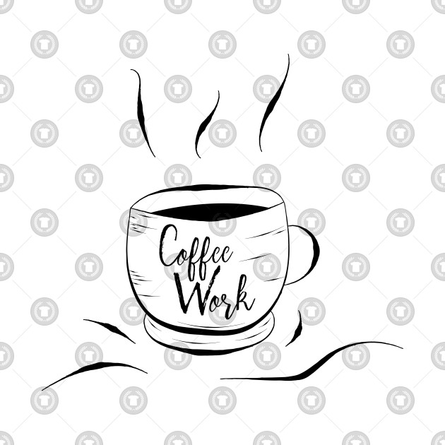 Coffee Work Mug cool Coffee Mug Design gift for Coffee addict