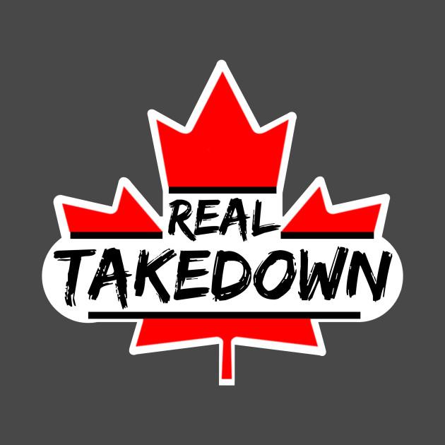 Real TakeDown Canadian Logo