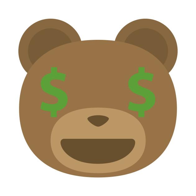 teddy bear emoji money face zoo mug teepublic