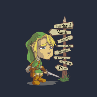 But Where's Hyrule? t-shirts
