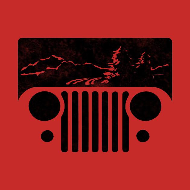 Adventuring CJ Jeep