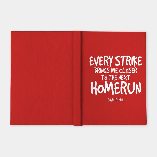 Inspiring Babe Ruth Baseball Quote