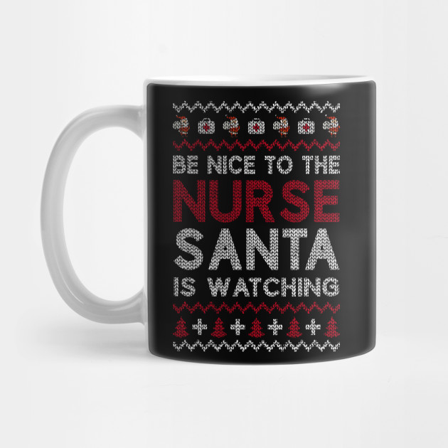 Nurse Ugly Christmas sweater Funny Xmas Gift for Nurses Sweatshirt Santa Claus