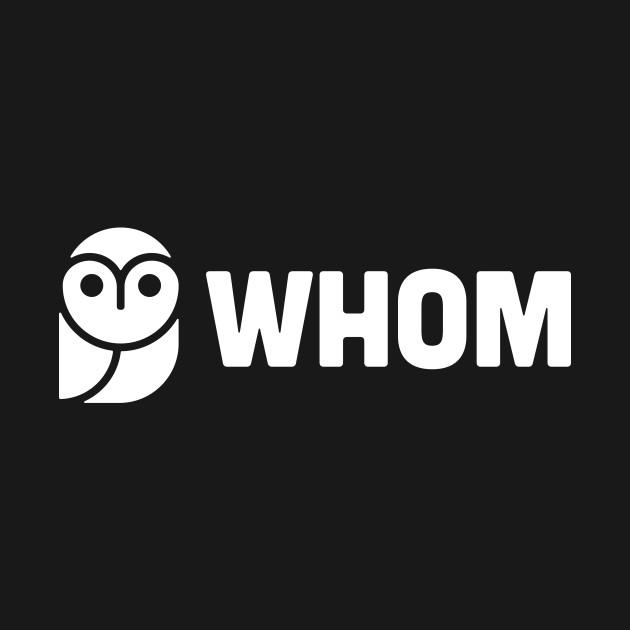 WHOM –– Funny English Teacher Owl