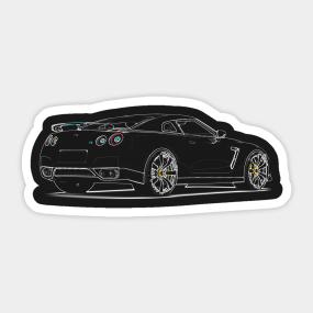 Nissan Stickers   TeePublic