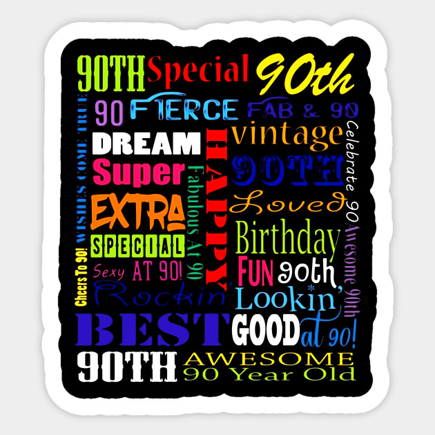 90th Birthday Party T Shirts