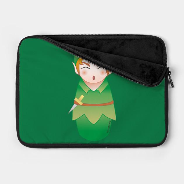 Kokeshi Peter Pan
