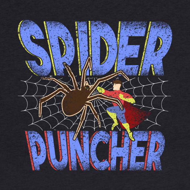 Spider Puncher - The Coolest New Superhero