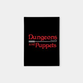 Puppet Show Notebooks | TeePublic