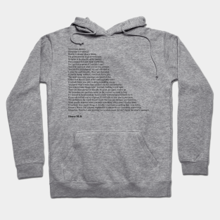 Everybody Lies Quote Pullover HOODIE for House Fans