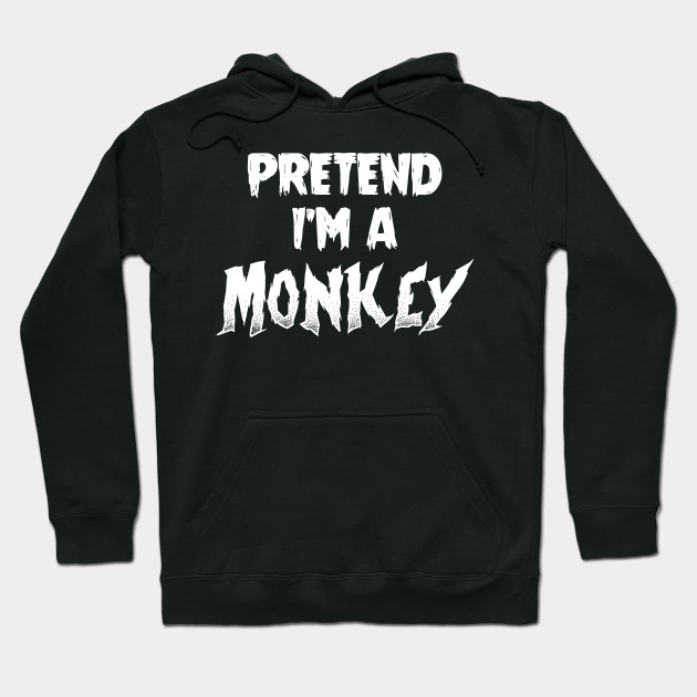 Monkey Halloween Costume Gift I Halloween Party Hoodie