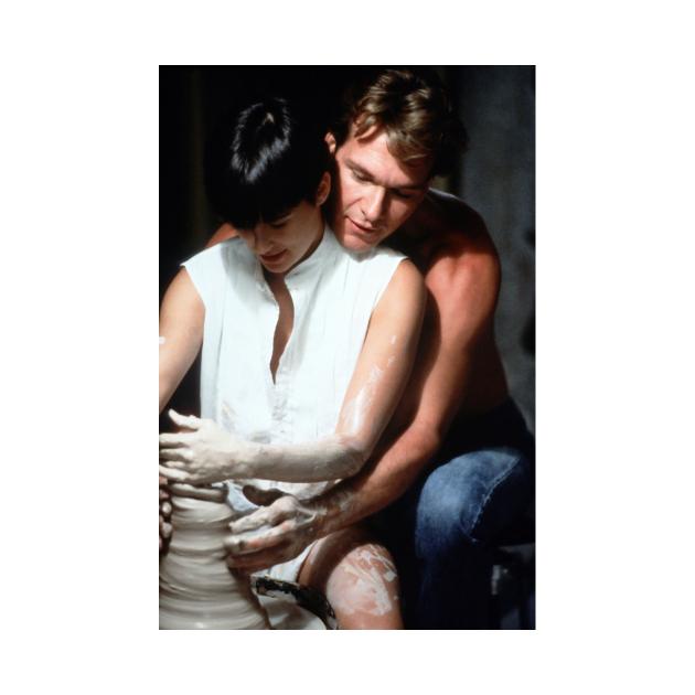 Ghost Romance fantasy movie Partick and Dami romantic couple