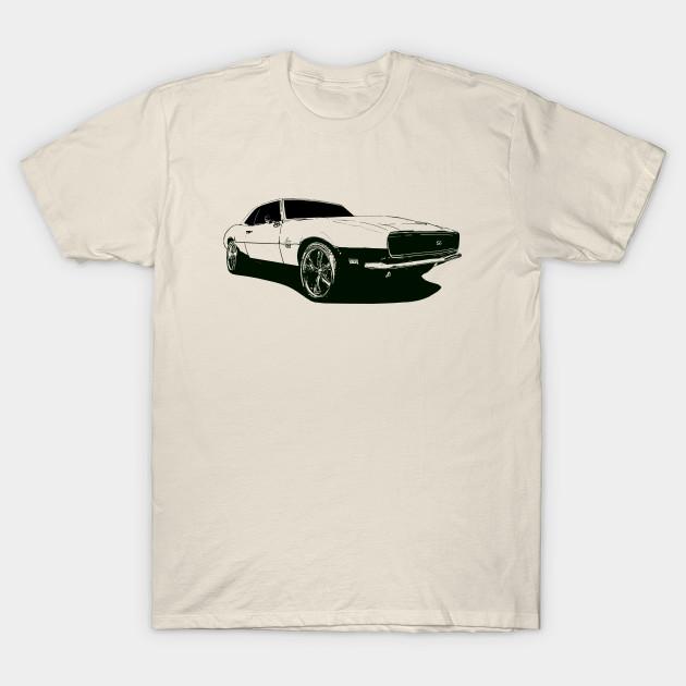 f922b451 1968 Chevy Camaro RS/SS - Camaro - T-Shirt   TeePublic