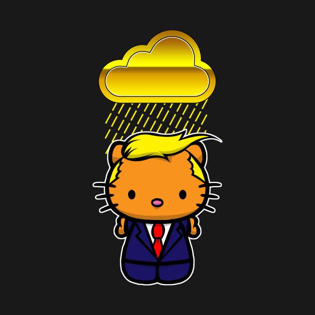 Golden Shower Trump Kitty