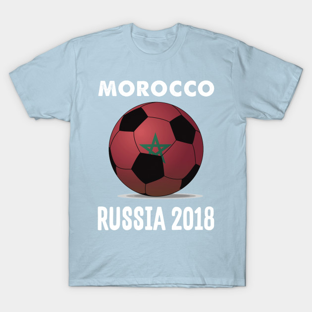 Morocco World Cup Football Soccer Russia 2018 Design