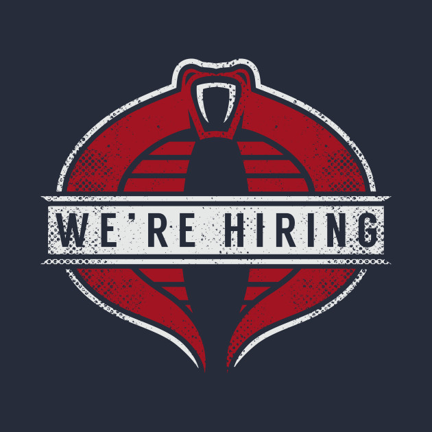 We Are Hiring T-Shirt