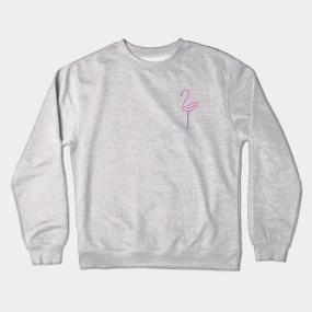9412d36a2 Flamingo Crewneck Sweatshirts | TeePublic