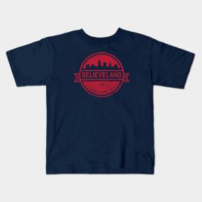 b80e68ff2c2f Believeland Kids T-Shirts   TeePublic
