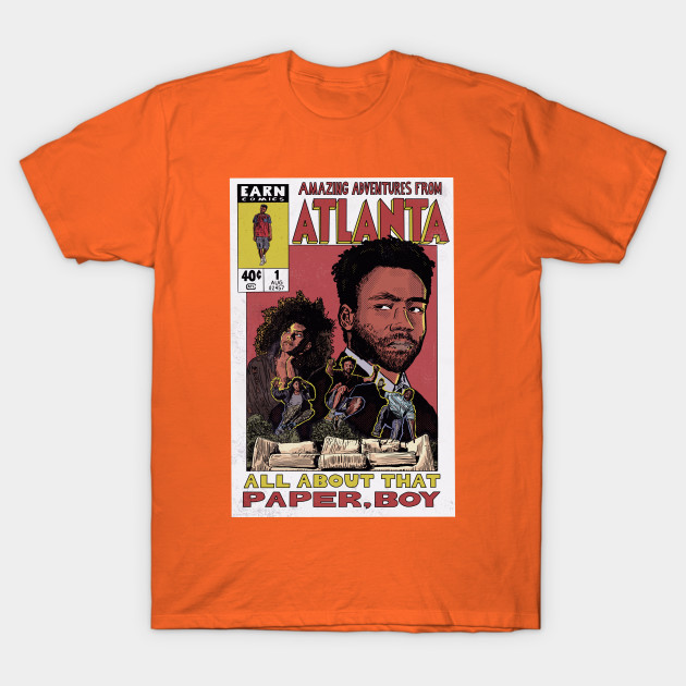 Amazing Adventures From Atlanta T-Shirt-TOZ