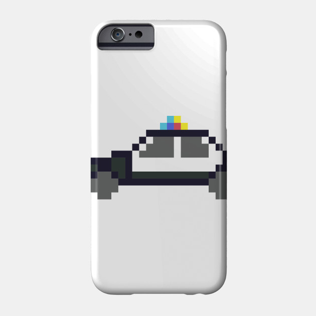 Limited Edition Exclusive Pixel Art Police Car Pixel Art Police