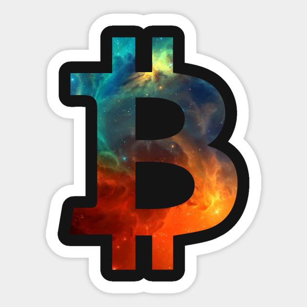 bitcoin logotipas t)