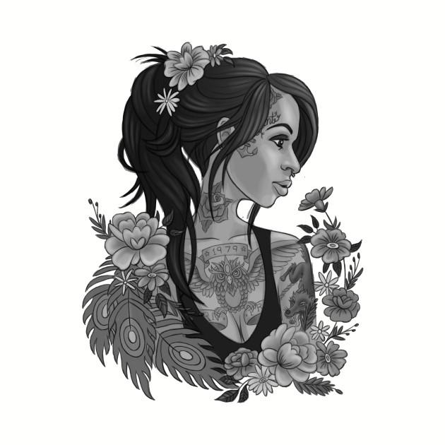 Tattoo Pin-Up Girl