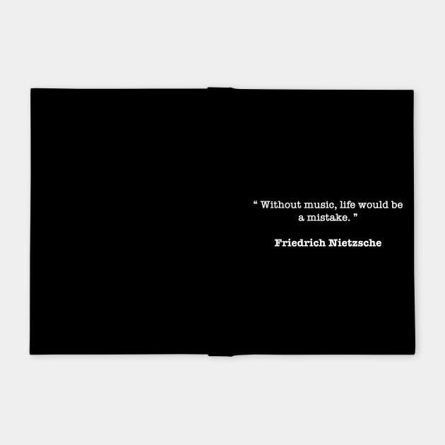 Friedrich Nietzsche Quote Friedrich Nietzsche Quotes Notebook