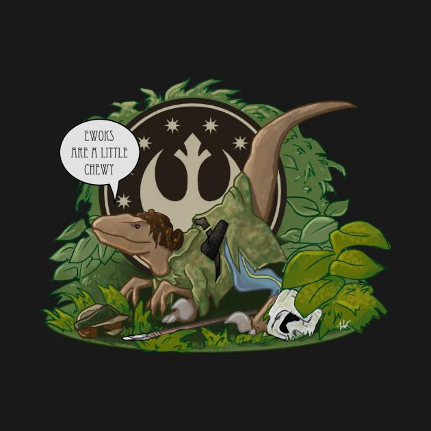 Raptor Endor Leia