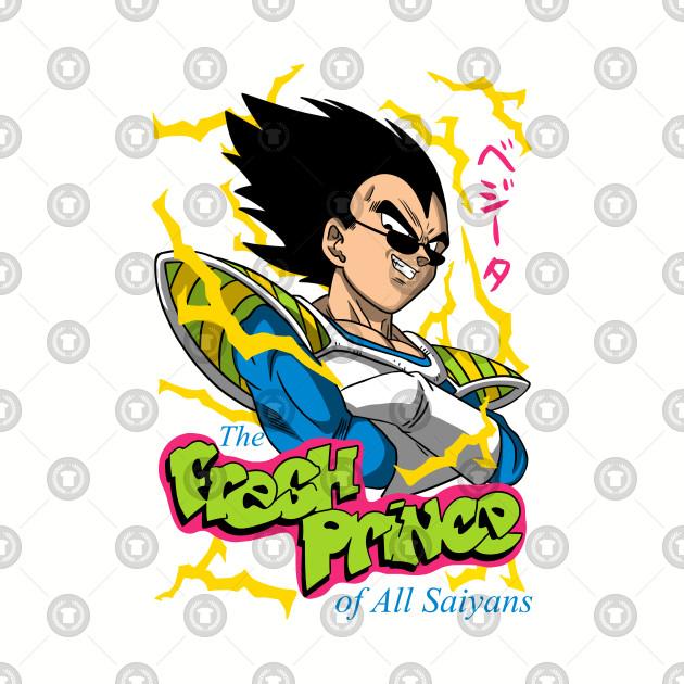 Fresh prince of all saiyans