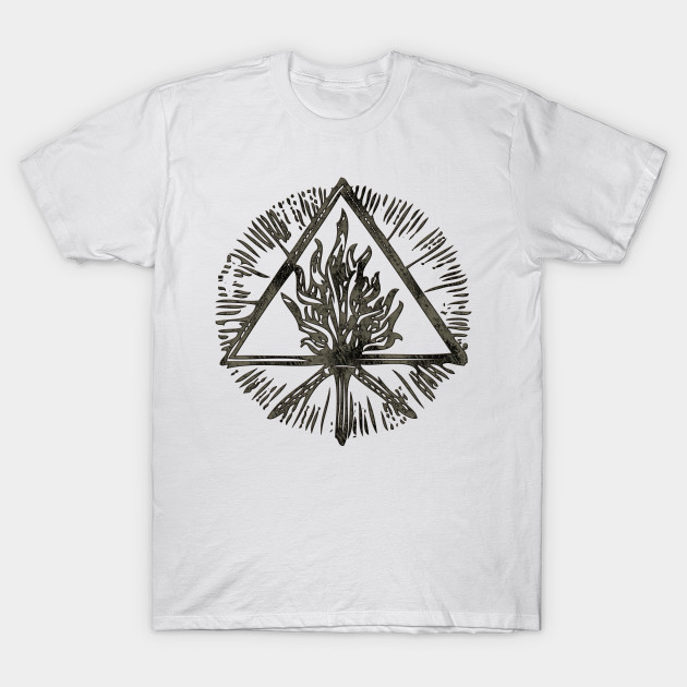 c102ad3b903 ANCIENT FIRE SYMBOLS - black grunge - Behemoth - T-Shirt