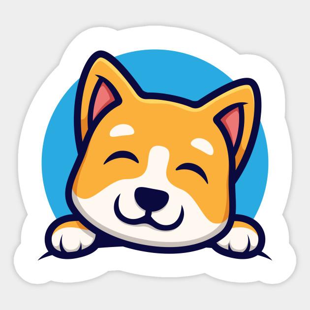 Cute Corgi Corgi Puppy Sticker Teepublic Au