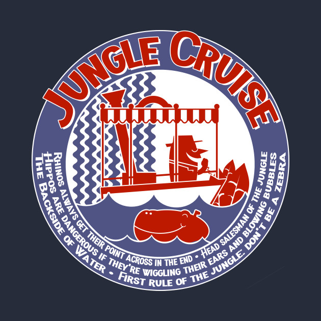 Jungle Cruise (red and blue)