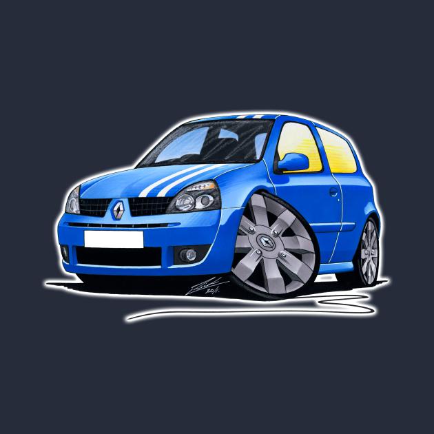 RenaultSport Clio 182 Blue (Stripes)